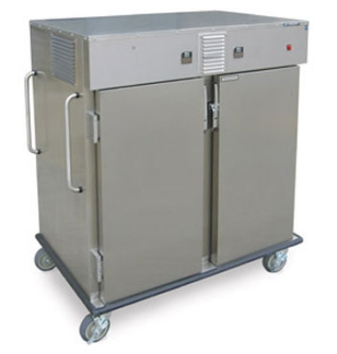 Lakeside 6760HA 2-Compartment Chilled Ambient Transport Cart For 18 x 26-in Trays