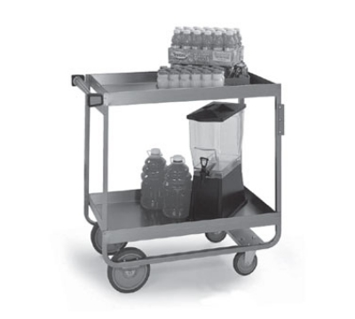 Lakeside 727 Heavy Duty Utility Cart w/ (2) 21 x 33-in Shelves, 700-lb