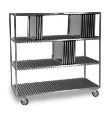 Lakeside 848 3-Shelf Sheet Pan Drying Rack For (120) 18 x 26-in Trays