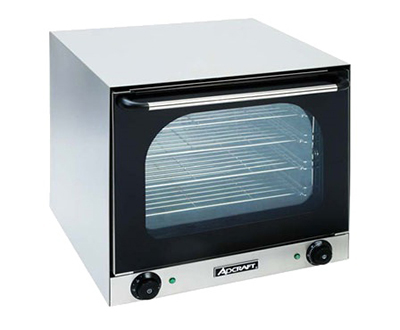 Adcraft COH-2670W Countertop Half-Size Convection Oven - Holds (4) 1/2-Sheet Pan, Stainless, 220v