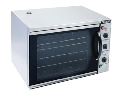 Adcraft COH-3100WPRO Countertop Convection Oven w/ Grill, Broil & Roasting Functions, Stainless