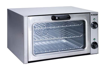 Adcraft COQ-1750W Quarter-Size Countertop Convection Oven, 120v/1ph