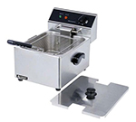 Adcraft DF-6L Countertop Fryer w/ 1-Pot & 15-lb/hr Capacity, Stainless