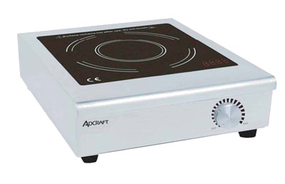 Adcraft IND-C208V Countertop Induction Cooker w/ Manual Controls & Auto Shut-Off, Stainless, 208/1V