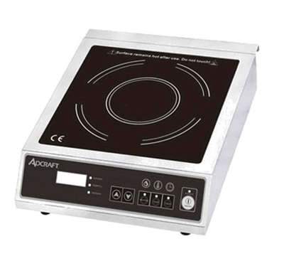 Adcraft IND-E120V Countertop Induction Cooker w/ Glass Top & Electronic Controls, Stainless