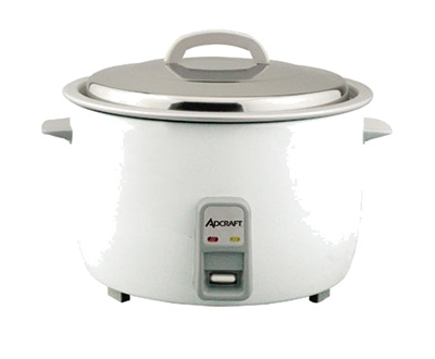 Adcraft RC-E25 Rice Cooker w/ 25-Cup Capacity & Oversized Fork, Measuring Cup