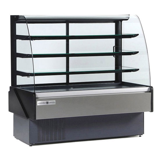 Kool-It KBD-60D 60-in Non-Refrigerated Bakery Display Case w/ LED Lighting