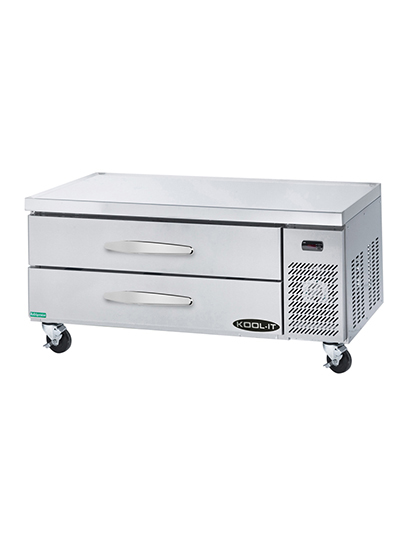 "Kool-It KCB-53-2 54.5"" Chef Base w/ (2) Drawers - 115v"