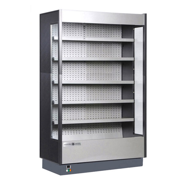 Kool-It KGH-100R 97-in Refrigerated Open Merchandiser w/ LED Lighting, Remote
