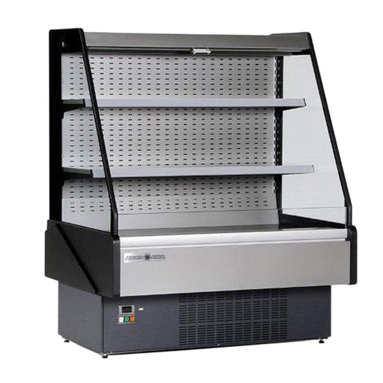 Kool-It KGL-60R 57-in Refrigerated Open Merchandiser w/ LED Lighting, Remote