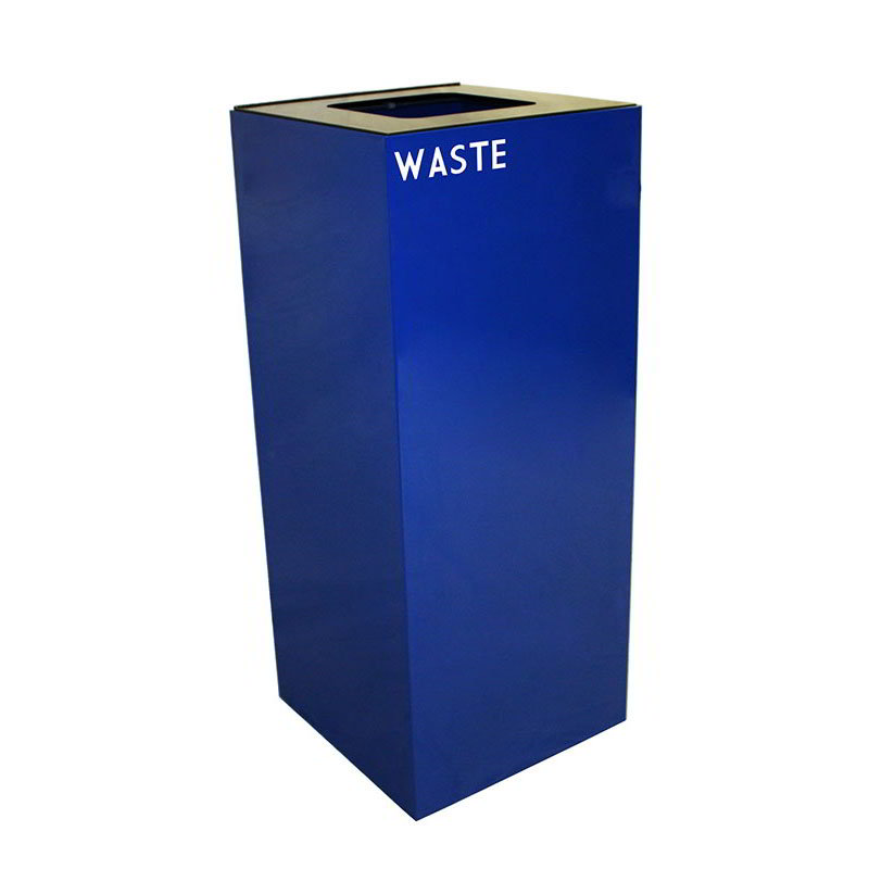 Witt Industries 36GC03-BL 36-Gallon Indoor Recycl