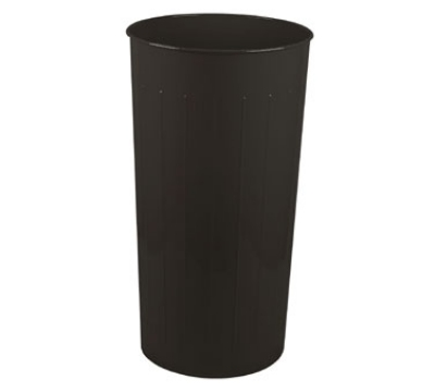 Witt Industries 10BK 20-Gallon Tall Standard Indoor Trash Can w/ Black Finish