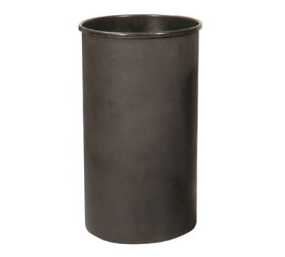 Witt Industries 35LBK Outdoor Trash Can Liner w/ 35-Gallon Capacity, Black