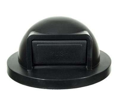 Witt Industries SC55DT 24.75-in Dome Top Lid For SC55 Trash Cans, Black Plastic