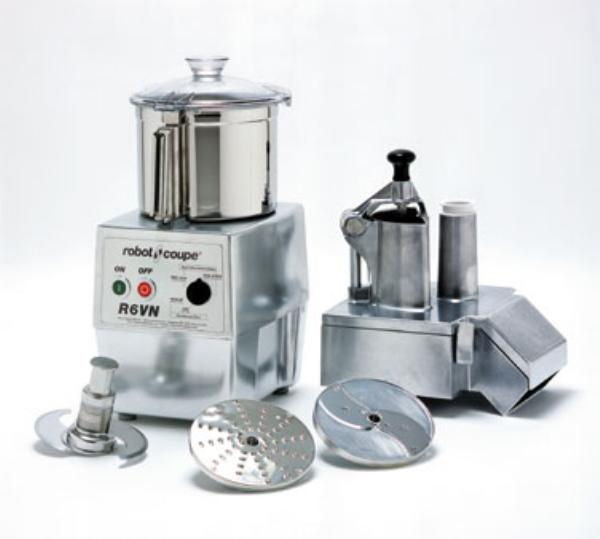 Robot Coupe R602V Commercial Food Processor Computer Controlled Var. Speed Cont. Feed SS Bowl Restaurant Supply
