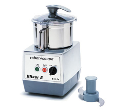 Robot Coupe BLIXER5 Vertical Commercial Blender Mixer w/ 5.5-qt Capacity & 2-Speeds