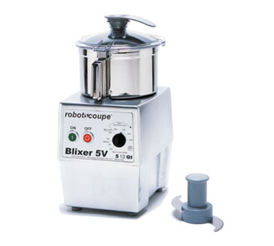 Robot Coupe BLIXER5V Vertical Commercial Blender Mixer w/ 5.5-qt Capacity & Variable Speeds