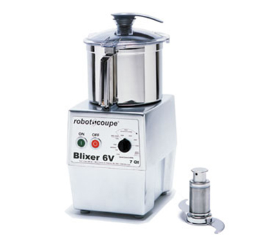Robot Coupe BLIXER6V Vertical Commercial Blender Mixer w/ 7-qt Capacity & Variable Speeds