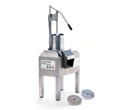 Robot Coupe CL60PUSHER Pusher-D Commercial Food Processor w/ Pusher Feed Head & 2-Speeds