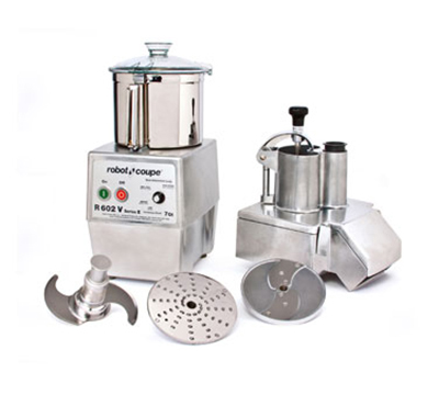 Robot Coupe R602V Combination Food Processor w/ 7-qt Stainless Bowl & Variable Speeds
