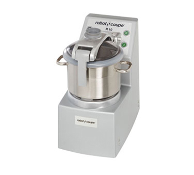 Robot Coupe R10 Vertical Cutter Mixer - 10-qt Capacity & 2-Speeds, Bench-Style