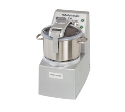Robot Coupe R15ULTRA Vertical Cutter Mixer w/ 15-qt Bowl, 4-qt Mini Bowl & 2-Speedss
