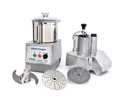 Robot Coupe R602 Combination Food Processor w/ 7-qt Stainless Bowl