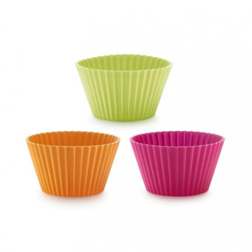 Lekue 0240100SURM033 Classic Muffin Cup Molds -