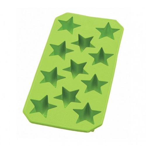 Lekue 0851400V02C049 Star Ice Cube Tray - Green