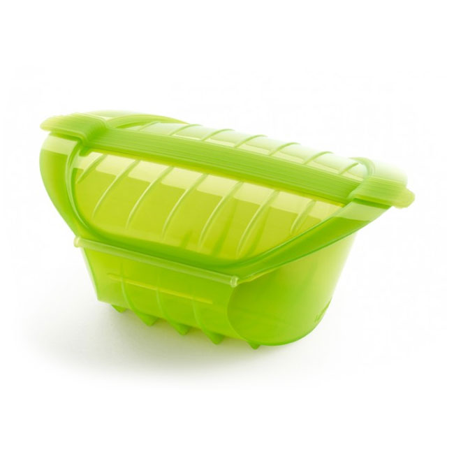 Lekue 3407600V09U004 1-qt Microwave Ogya Pot - Green