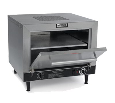 Nemco 6205 Electric Single Deck Countertop Pizza Oven, 240/1v