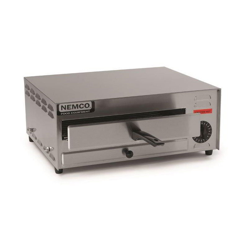 Nemco 6215 Electric Single Deck Countertop Pizza Oven, 120/1v