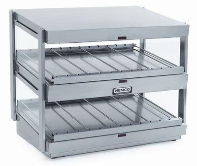 Nemco 6480-18S 18-in Shelf Merchandiser Dual Stainless 860 W Restaurant Supply