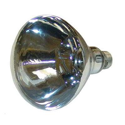 Nemco 66118 Shatter Resistant Heat Lamp Bulb, 250-Watt, White