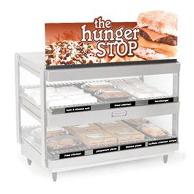 Nemco 68773-36 Dual Shelf Merchandiser Sign Kit For 6480-36 Models