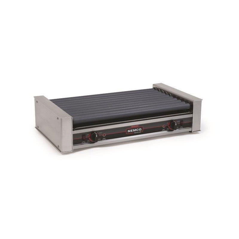 Nemco 8036 36 Hot Dog Roller Grill - Flat Top, 120v