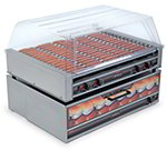 Nemco 8075SX 75 Hot Dog Roller Grill - Flat Top, 120v