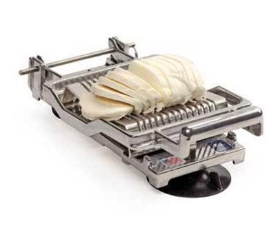 Nemco 55300A-516D Table Top Mozzarella Slicer w/ .31-in Cutting Arm & Stainless Wires, Cast Alumin
