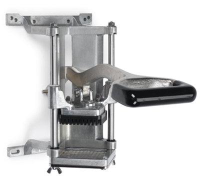 Nemco 55450-3 Food Cutter w/ .50-in Cut, Short Throw Handle & Wall Or Countertop Mount