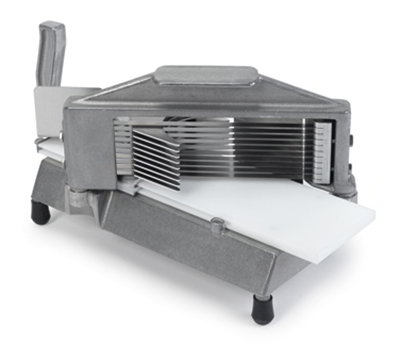 Nemco 55600-7 Tomato Slicer w/ .22-in Cut, Razor Sharp Stainless Blades & Vertical Handle