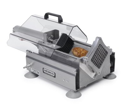 Nemco 56455-2 Extra Large Potato Cutter w/ .38-in Cut & 720-Potatoes/Hour Capacity, Aluminum