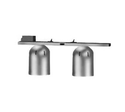 Nemco 6006-2 Chain Hung Heat Lamp w/ Single Row Suspension Bar & 2-Bulbs, 120/1 V