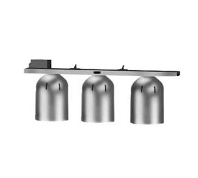 Nemco 6006-3 Chain Hung Heat Lamp w/ Single Row Suspension Bar & 3-Bulbs, 120/1 V