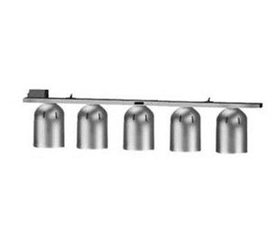 Nemco 6006-5 Chain Hung Heat Lamp w/ Single Row Suspension Bar & 5-Bulbs, 120/1 V