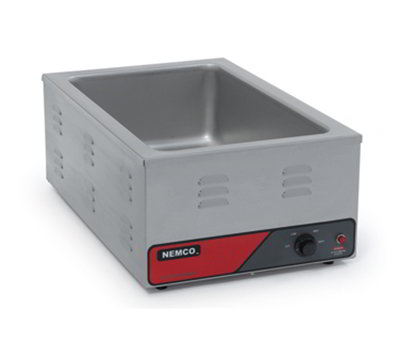 Nemco 6055A Countertop Warmer w/ 12x20-in Pan Capacity & Infinite Control Thermostat, 120/1V