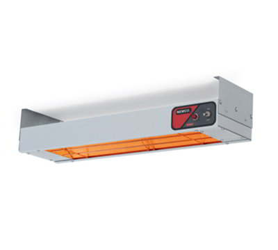 Nemco 6150-48-CP Bar Heater w/ Calrod Heating Element, Cord & Plug, 48.25x6.75x2.75-in, 120V