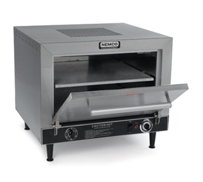 Nemco 6205 120 Insulated Countertop Pizza Oven w/ 2-Deck & Thermostatic Controls, 120V