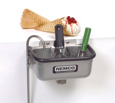 Nemco 77316-10 10-in Spade Cleaning Well w/ .38-in Ro