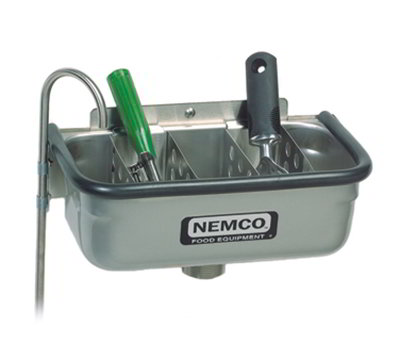 Nemco 77316-13 13-in Spade Cleaning Well - .38-in Rou