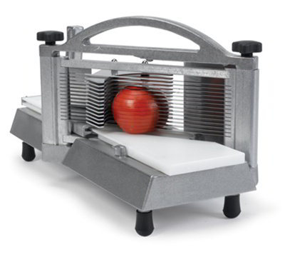 Nemco 56600-2 Tomato Slicer w/ .25-in Compact Slice, Razor Sharp Blades & Ergonomic Handle